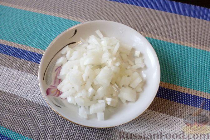 Фото приготовления рецепта: Брусничный кисло-сладкий соус - шаг №2