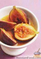 Фото к рецепту: Инжир с апельсиновым соусом