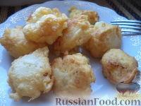 Фото к рецепту: Цветная капуста в кляре