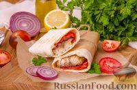 Фото к рецепту: Рыба в хлебе, по-турецки (балык экмек)