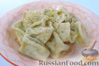 Фото к рецепту: Равиоли с мясом и сыром