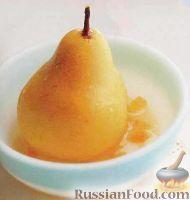 Фото к рецепту: Груши с лимонным соусом