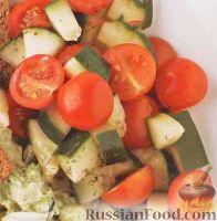 Фото к рецепту: Салат из свежих овощей