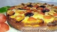 Фото к рецепту: Творожный пирог с арбузом