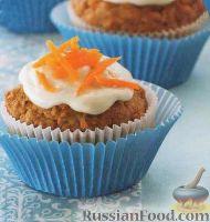 Фото к рецепту: Морковные маффины