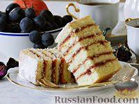 Фото к рецепту: Бисквитные пирожные с джемом