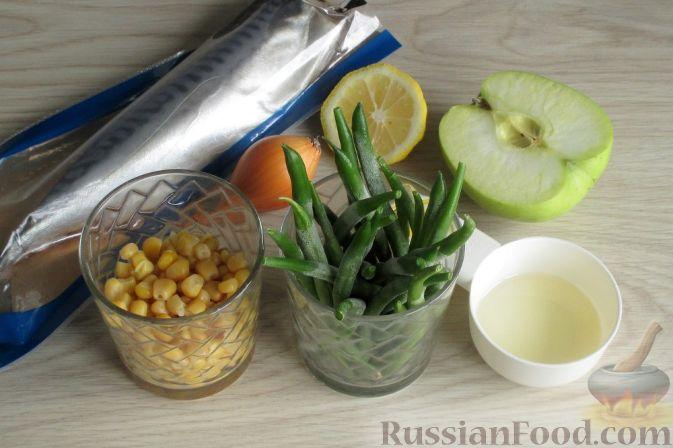 Фото приготовления рецепта: Творожно-яблочные лепешки - шаг №6