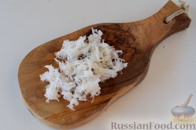 """Фото приготовления рецепта: Японский салат """"Сябу-сябу"""" со свининой - шаг №6"""