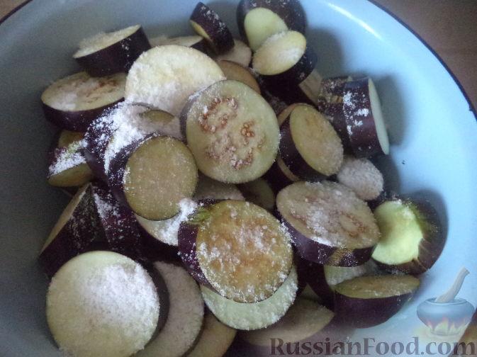 Фото приготовления рецепта: Сатэ из баклажанов острое - шаг №2