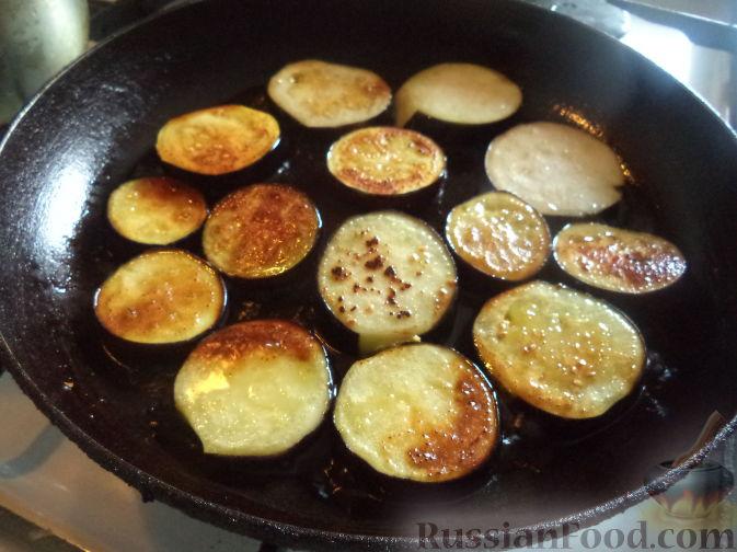 Фото приготовления рецепта: Сатэ из баклажанов острое - шаг №7