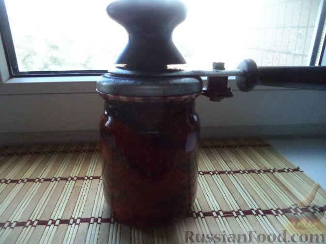 Фото приготовления рецепта: Сатэ из баклажанов острое - шаг №12