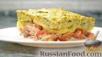 Фото к рецепту: Куриные окорочка с овощами (в духовке)