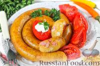 Фото к рецепту: Ведарай (литовская картофельная колбаса)
