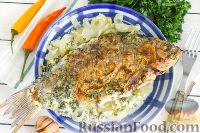 Фото к рецепту: Караси, запеченные в сметане