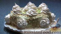 """Фото к рецепту: Ореховый торт """"Избушка"""""""