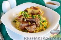 Фото к рецепту: Оссобуко по-милански (тушеная говядина)