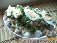 Фото к рецепту: Салат «Нежный»