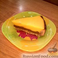 Фото к рецепту: Шоколадно-облепиховый торт