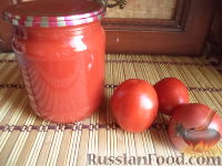 Фото к рецепту: Томатный сок