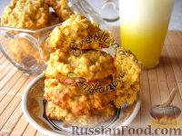 Фото к рецепту: Овсяно-тыквенное печенье