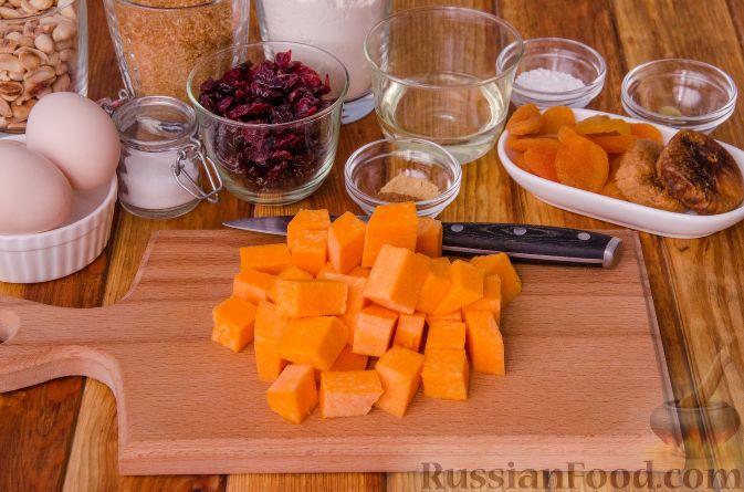 Фото приготовления рецепта: Тыквенные бискотти - шаг №2
