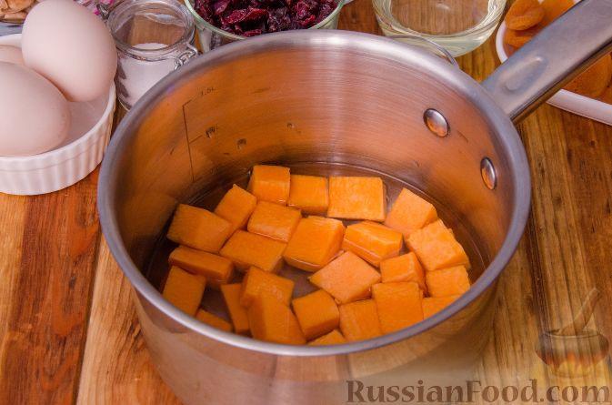 Фото приготовления рецепта: Тыквенные бискотти - шаг №3