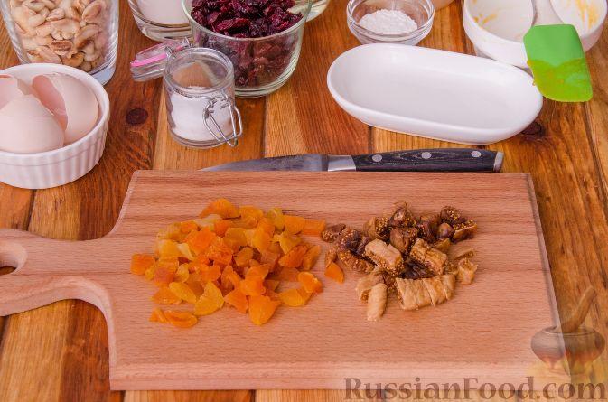 Фото приготовления рецепта: Тыквенные бискотти - шаг №8