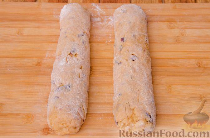 Фото приготовления рецепта: Тыквенные бискотти - шаг №14
