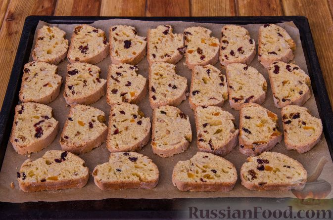 Фото приготовления рецепта: Тыквенные бискотти - шаг №17