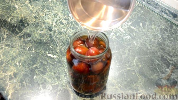Фото приготовления рецепта: Пряные сливы (на зиму) - шаг №3