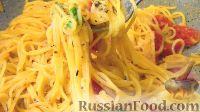 Фото к рецепту: Паста на сковороде
