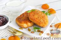 Фото к рецепту: Сырники по-киевски