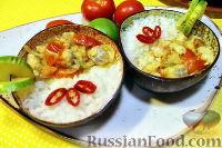Фото к рецепту: Рыбное карри (белая рыба под кокосовым соусом карри)