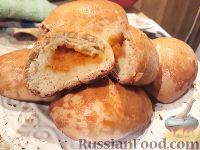 Фото к рецепту: Пирожки с тыквой