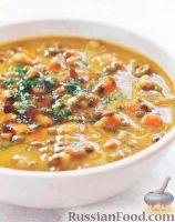 Суп из пестрой чечевицы рецепт