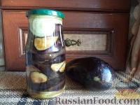 Фото к рецепту: Салат из баклажанов с луком