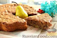 Фото к рецепту: Шоколадная шарлотка
