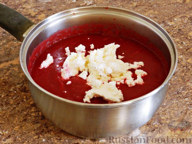 Фото приготовления рецепта: Свекольный крем-суп - шаг №10
