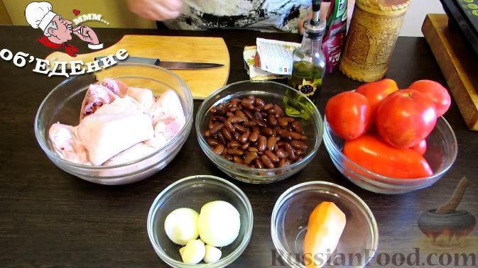 Фото приготовления рецепта: Овсяный крамбл с мандаринами - шаг №2