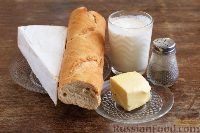 Фото приготовления рецепта: Сэндвичи с колбасой, сыром и томатной пастой, на сковороде - шаг №1