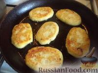 Фото приготовления рецепта: Зразы картофельные с ливером - шаг №11