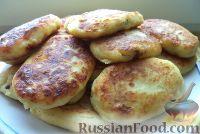 Фото приготовления рецепта: Зразы картофельные с ливером - шаг №12