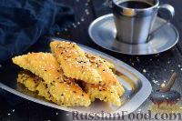 Фото к рецепту: Соленое сырное печенье на майонезе