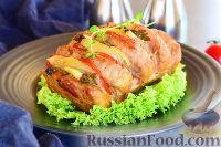 Фото к рецепту: Свинина с хреном