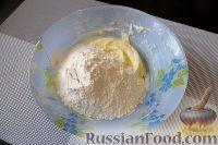 Фото приготовления рецепта: Песочное печенье с джемом и орехами - шаг №6