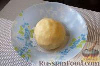Фото приготовления рецепта: Песочное печенье с джемом и орехами - шаг №7