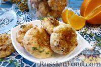 Фото к рецепту: Песочное печенье с джемом и орехами