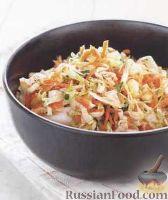 Фото к рецепту: Сладкий капустный салат с морковью