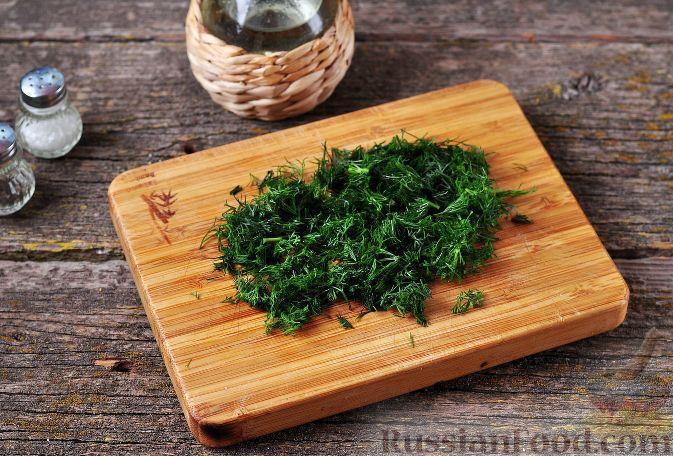 Фото приготовления рецепта: Запечённый болгарский перец, фаршированный гречкой и сыром - шаг №16
