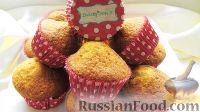Фото к рецепту: Сметанный кекс с орехами